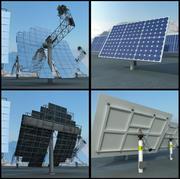 2 Solar Panels 3d model