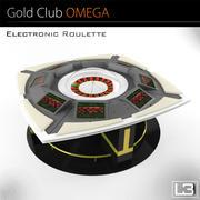 Electronic Roulette 3d model