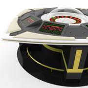 Ruleta electrónica modelo 3d