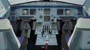 Airbus A320 cockpit high detailization 3d model