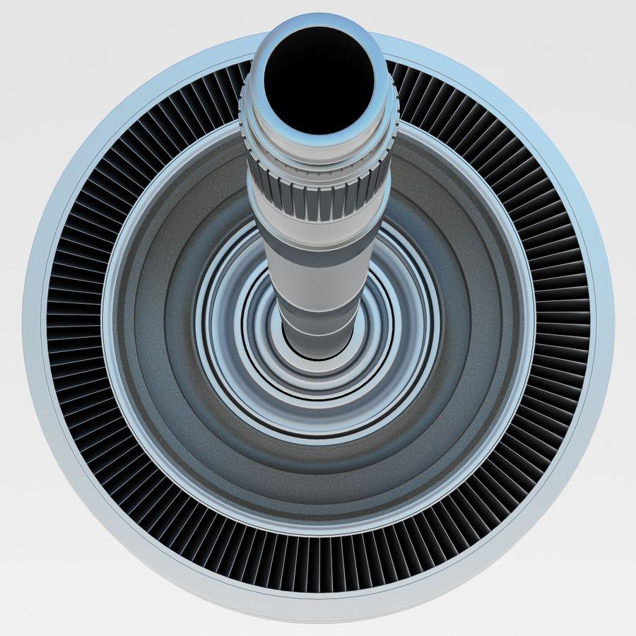 Aviones Jet Turbine 2 royalty-free modelo 3d - Preview no. 11