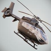 Eurocopter EC135 T2 3d model