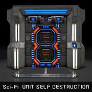Sci-Fi UNIT SELF-DESTRUCTION 3d model