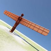 Angel Of The North Standbeeld 3d model