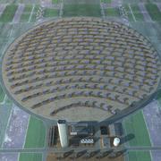 Solar Power Plant 2 3d model