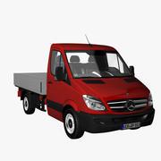 MB Sprinter Singlecab Short 2012 3d model