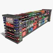 Grocery Shelf Pop 3d model