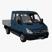 MB Sprinter Crewcab Short 2012 3d model