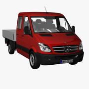 MB Sprinter Crewcab Standard 2012 3d model