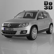 Volkswagen Tiguan 2013 внедорожник 3d model
