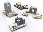 building_hotel 3d model