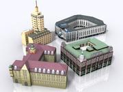 Gebouwen-hotel 3d model