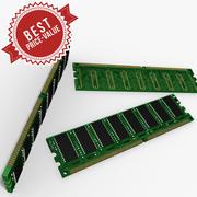 RAM memory 3d model