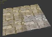 Tileable Stone Pavement 3d model