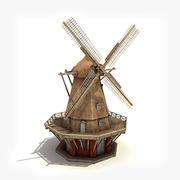 Копенгагенская ветряная мельница 3d model