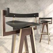 cadeira: xemei stool 3d model