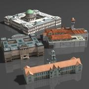 박물관 -07 3d model