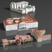 박물관 팩 3d model