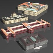 박물관 pack_03 3d model