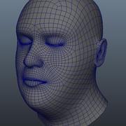 Karakter Göğüs Mesh 3d model