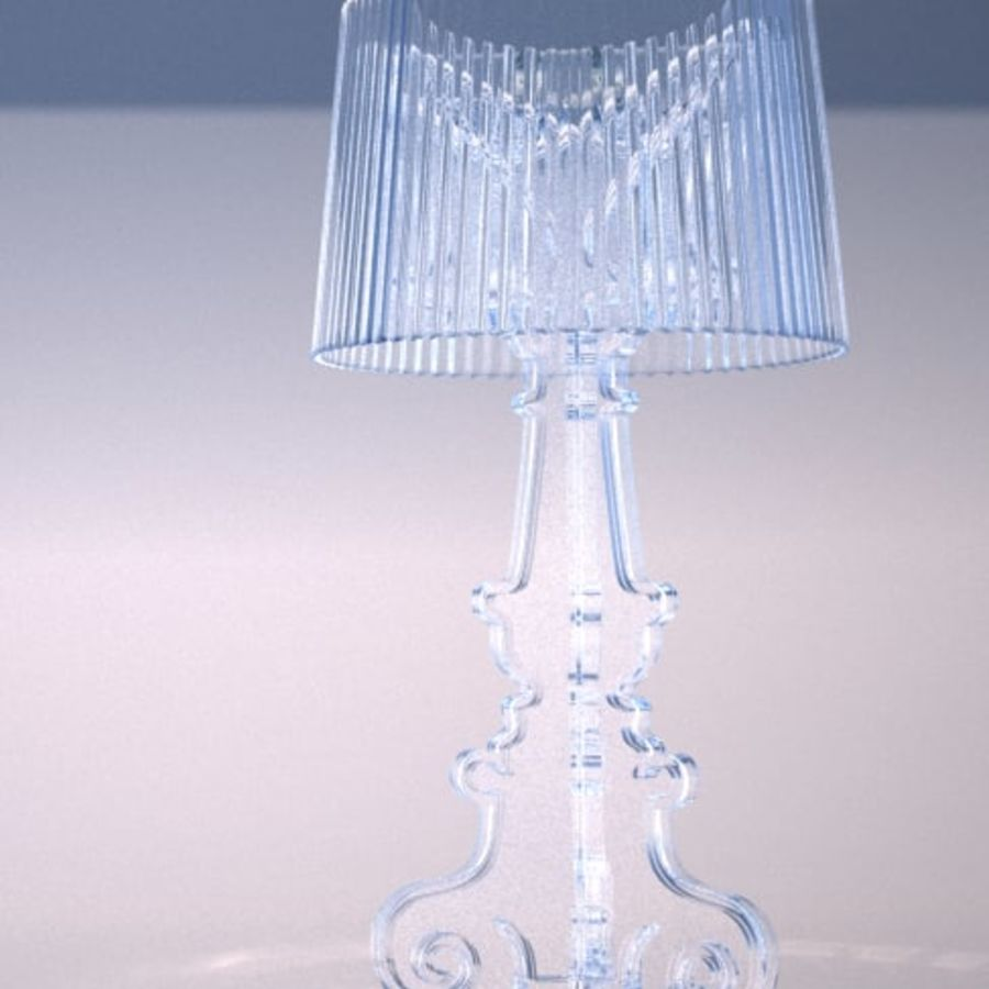 Lampa Kartell Bourgie royalty-free 3d model - Preview no. 1