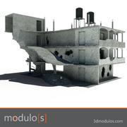 Bina kalıntısı A 3d model