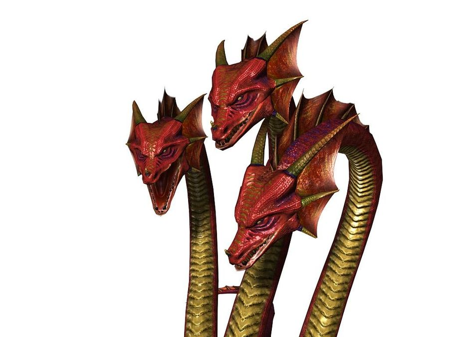 3dFoin Hydra royalty-free 3d model - Preview no. 3