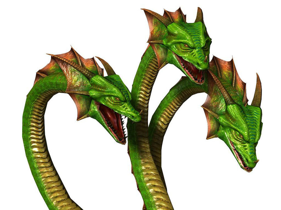 3dFoin Hydra royalty-free 3d model - Preview no. 2