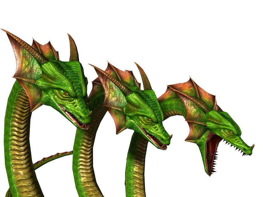 3dFoin Hydra royalty-free 3d model - Preview no. 9
