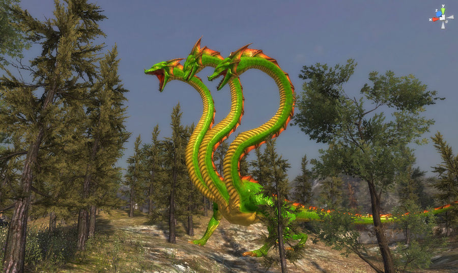 3dFoin Hydra royalty-free 3d model - Preview no. 15
