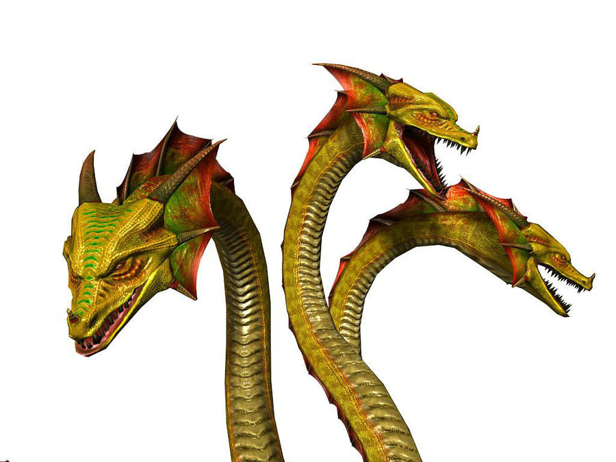 3dFoin Hydra royalty-free 3d model - Preview no. 10