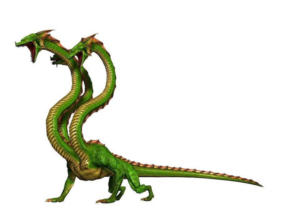 3dFoin Hydra royalty-free 3d model - Preview no. 8
