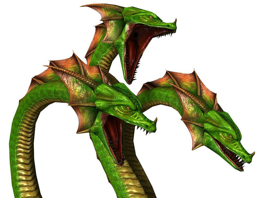 3dFoin Hydra royalty-free 3d model - Preview no. 12