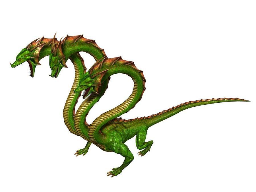3dFoin Hydra royalty-free 3d model - Preview no. 5