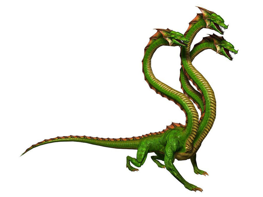 3dFoin Hydra royalty-free 3d model - Preview no. 1