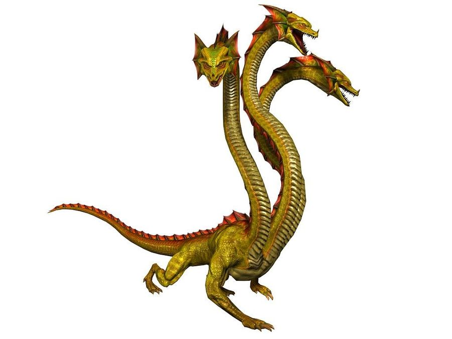 3dFoin Hydra royalty-free 3d model - Preview no. 4