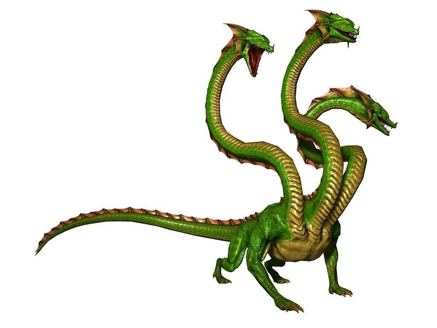 3dFoin Hydra royalty-free 3d model - Preview no. 7