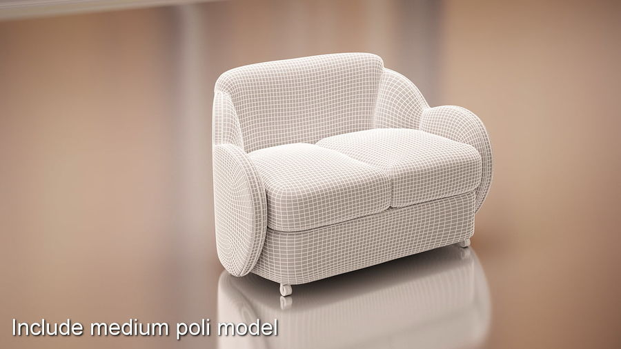Nuage royalty-free 3d model - Preview no. 11