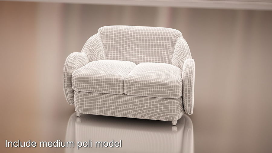 Nuage royalty-free 3d model - Preview no. 12