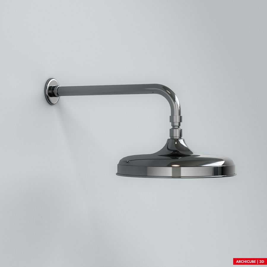 Duş başlığı royalty-free 3d model - Preview no. 2