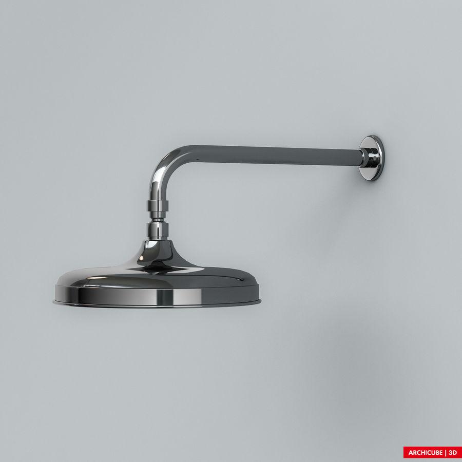 Duş başlığı royalty-free 3d model - Preview no. 4