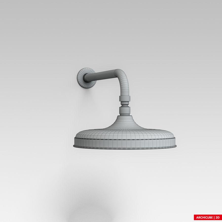 Duş başlığı royalty-free 3d model - Preview no. 5