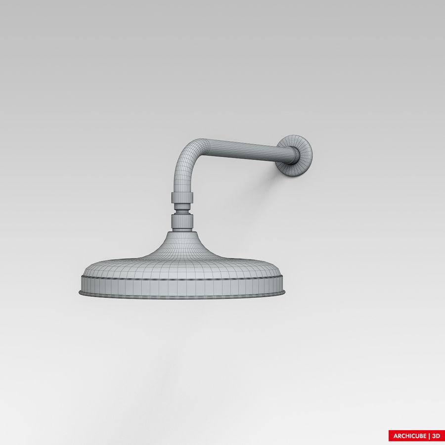 Duş başlığı royalty-free 3d model - Preview no. 7