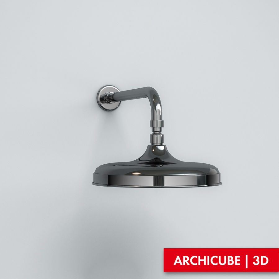 Duş başlığı royalty-free 3d model - Preview no. 1