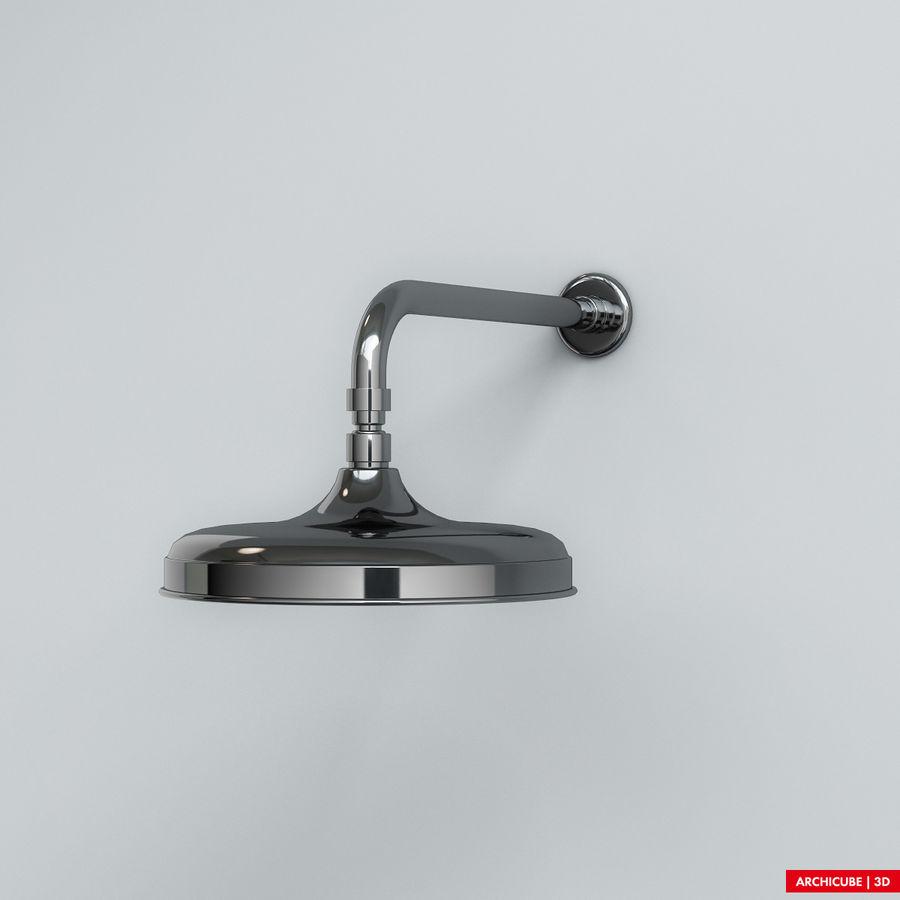 Duş başlığı royalty-free 3d model - Preview no. 3