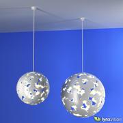 Lampa wisząca w kamuflażu firmy Zero 3d model