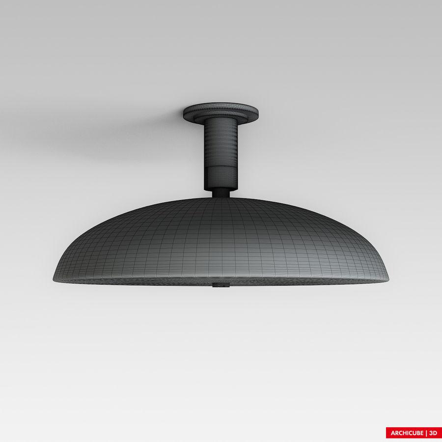 Duschkopf 02 royalty-free 3d model - Preview no. 5
