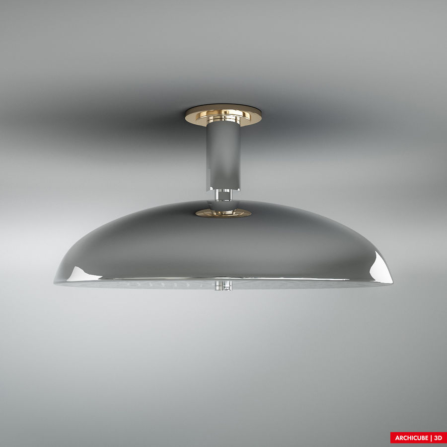 Duschkopf 02 royalty-free 3d model - Preview no. 2