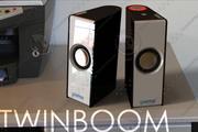 Speaker Twin Boom 3d model