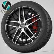 Wheel BBS CS-R 3d model